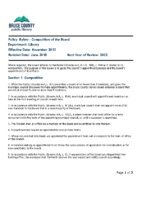 Bylaw – Composition of the Board